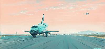 Sts 61c Columbia Space Shuttle Convoy Edwards Afb Original