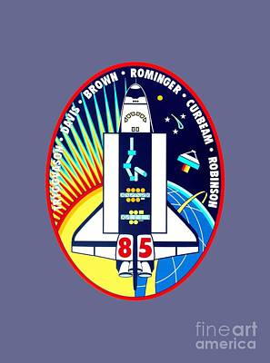 Art Gallery Mixed Media - Sts-85 Insignia by Art Gallery