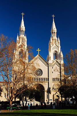 St Peter And Paul Church San Francisco California Photograph - Sts Peter And Paul by James Kirkikis