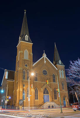 Sts. Stephen And James Evangelical Lutheran Church Art Print