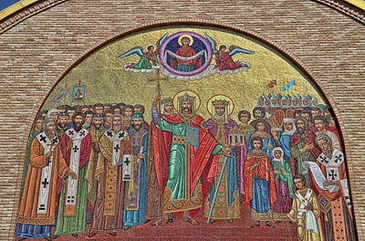 Photograph - Sts. Volodymyr And Olha Ukranian Catholic Church - Chicago # 2 by Allen Beatty