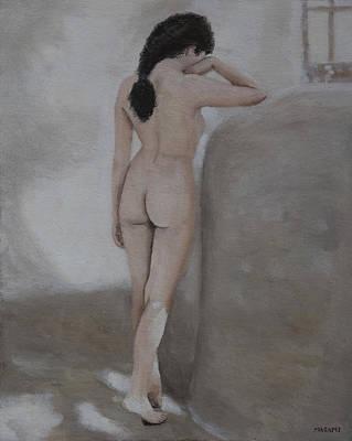Painting - Stsanding Nude by Masami Iida