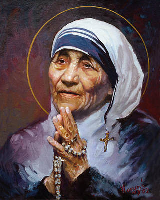 St.teresa Of Calcutta Art Print