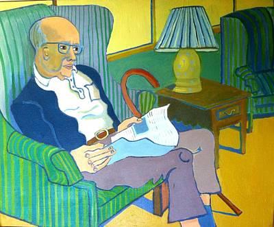 Stuart Bruno Art Print by Debra Bretton Robinson