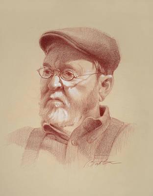 Drawing - Stuart by Todd Baxter