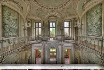 Photograph - Stucco Villa - Villa Degli Stucchi I by Enrico Pelos