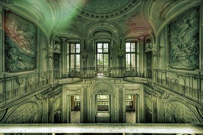 Photograph - Stucco Villa - Villa Degli Stucchi II by Enrico Pelos