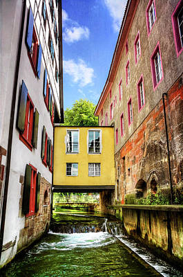 Photograph - Stuck In The Middle In Basel Switzerland  by Carol Japp