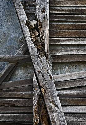 Lath Photograph - Stud And Lath by Murray Bloom