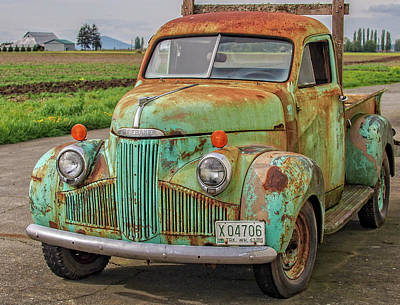 Photograph - Studebaker '47 M-5 Coupe Express by Gary Karlsen