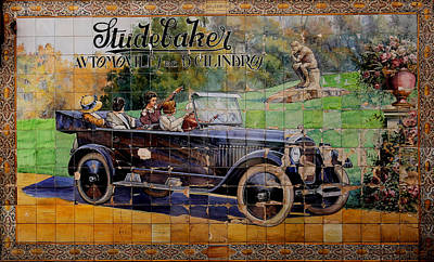 Photograph - Studebaker by Andrew Fare
