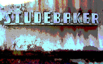 Studebaker  Art Print by Audrey Venute