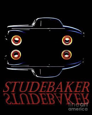 Photograph - Studebaker  by Baggieoldboy