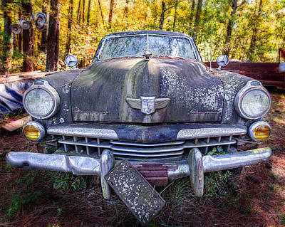 Photograph - Studebaker Champion by Alan Raasch