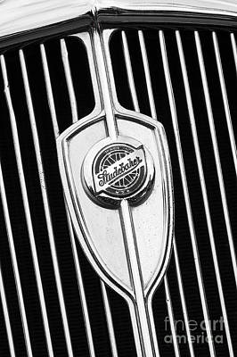 Photograph - Studebaker Grill by Dennis Hedberg