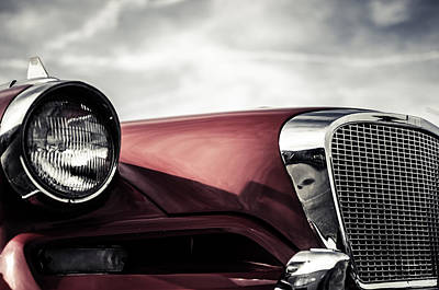Photograph - Studebaker Grille  by Off The Beaten Path Photography - Andrew Alexander