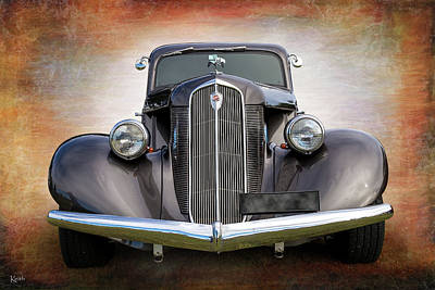 Photograph - Studebaker by Keith Hawley