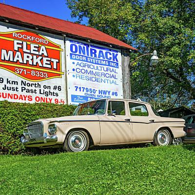 Photograph - Studebaker Lark by Steve Harrington