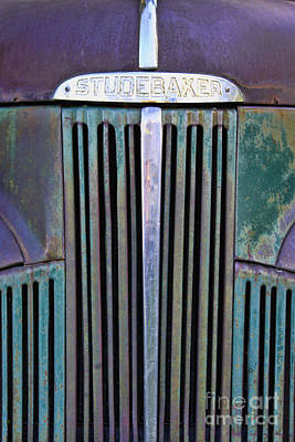 47 Studebaker Pick-up Grill Art Print