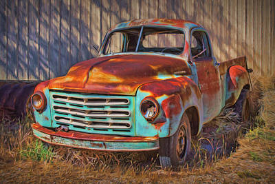 Photograph - Studebaker - Pickup Truck by Nikolyn McDonald