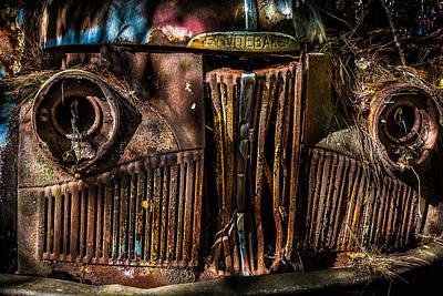 Photograph - Studebaker by Randy Walton