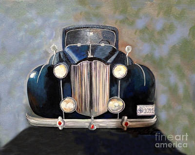 Painting - Studebaker Roadster by Kim Chambers