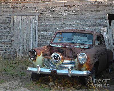 Photograph - Studebaker Sitting by Renie Rutten