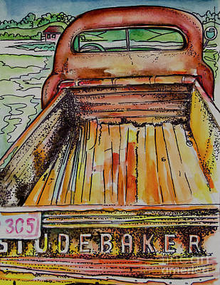 Studebaker Painting   Studebaker Storage By Johnnie Stanfield