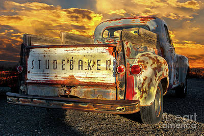 Photograph - Studebaker by Susan Warren