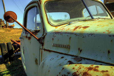 Photograph - Studebaker Truck by Jerry Gammon