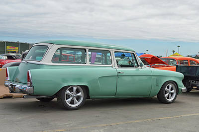Photograph - Studebaker Wagon Too by Bill Dutting