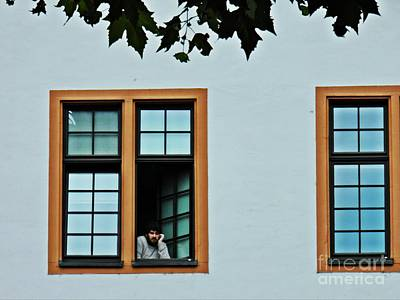 Photograph - Student At The Window   by Sarah Loft