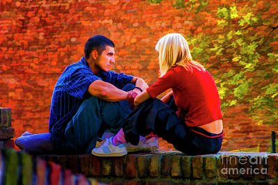 Photograph - Student Friends by Rick Bragan