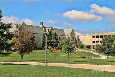 Student Union Photograph - Student Union University Of Toledo  6208 by Jack Schultz