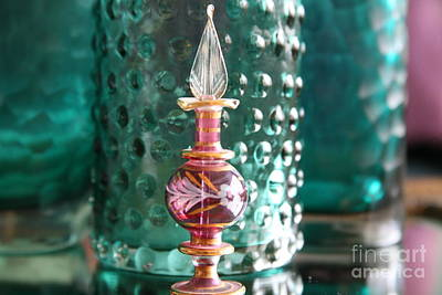 Photograph - Studies In Glass ....juxtaposed by Lynn England