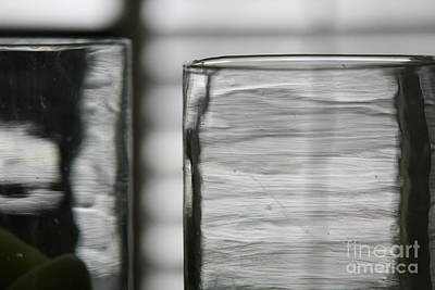 Photograph - Studies In Glass ...shades Of Grey by Lynn England