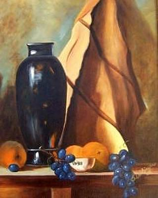 Painting - Studio Arrangement by Susan Dehlinger
