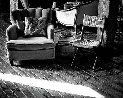 Wall Art - Photograph - Studio Chairs by Giovanni Arroyo