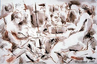 Painting - Studio D by Chuck Berk