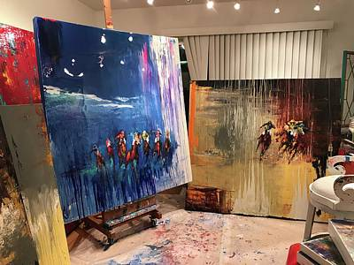 Painting - Studio by Heather Roddy