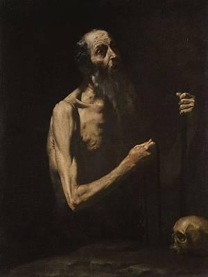 Pittsburgh According To Ron Magnes - Studio of Jusepe de Ribera, called Lo Spagnoletto JATIVA, VALENCIA 1591 - 1652   SAINT ONOPHRIUS by Studio of Jusepe de Ribera