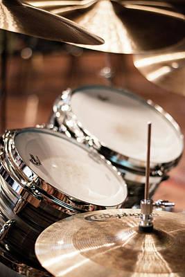 Studio Setup  - Drums  Art Print