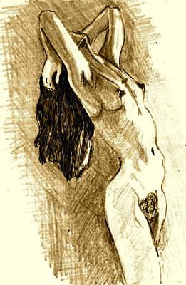 Studio Sketch Art Print by Dan Earle