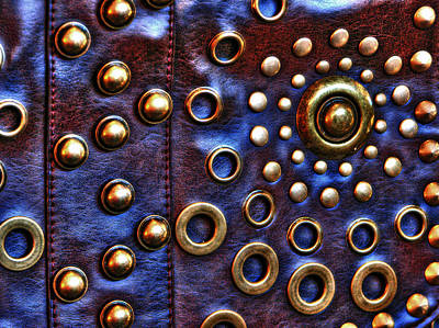 Photograph - Studs On Leather by Chris Anderson
