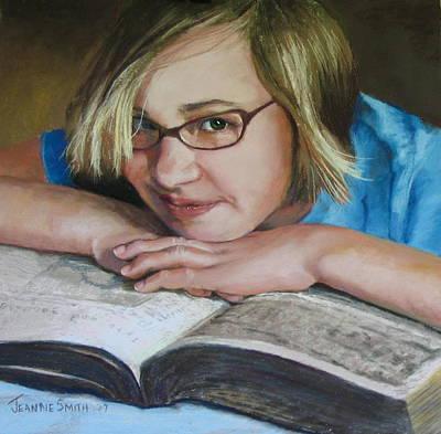Study Break Art Print by Jeanne Rosier Smith