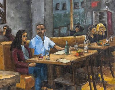 Study For Cafe Zorn Original