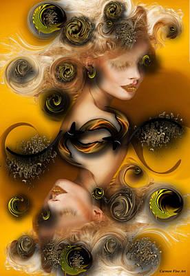 Digital Art - Study For Charming Poetry by Carmen Fine Art
