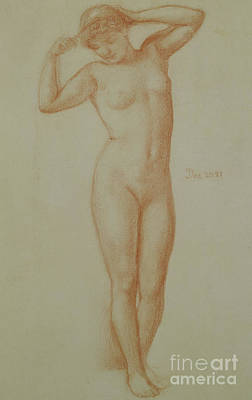 Study For Diadumene, 1881 Art Print