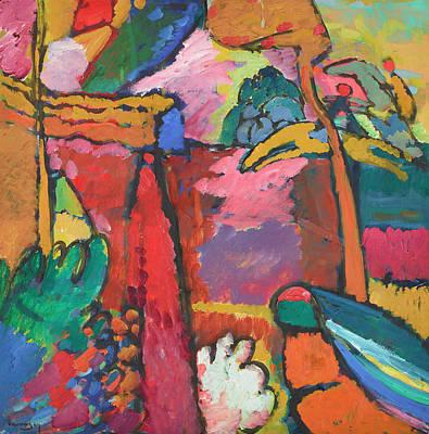 Kandinsky Wall Art - Painting - Study For Improvisation by Wassily Kandinsky
