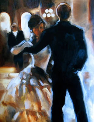 Ballroom Painting - Study For Last Dance by Stuart Gilbert